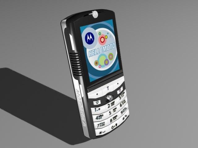3d model of cellular phone