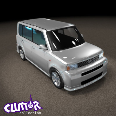 3d 2007 scion xb car model