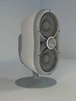 mini speaker 3d 3ds