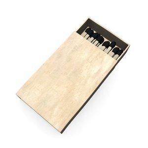 3d matchbox model