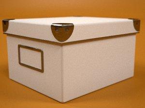 kasset box 3d lwo