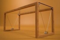 3d arbalate office table