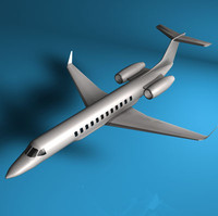 3ds max executive jet