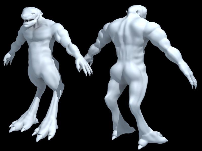 maya creature monster character