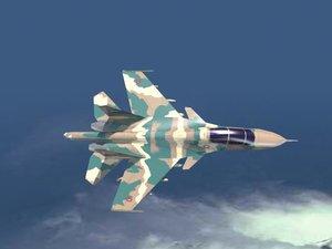 missile su-30 3d model