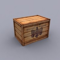 German WWII Crates