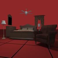 BEDROOM SET02 [DWG]