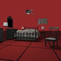 BEDROOM SET03 [DWG]