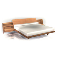 max contemporary bedroom bed