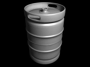 keg barrel 3d model
