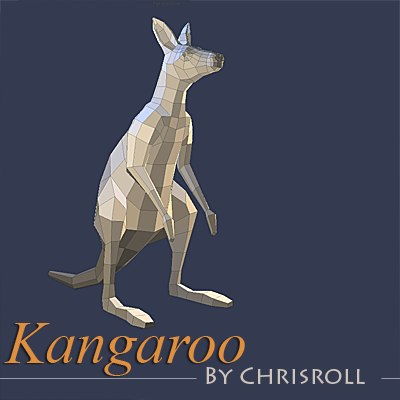 maya kangaroo animations