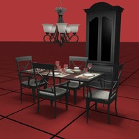 dining table dwg