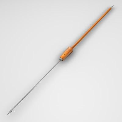 pilum spear 3d 3ds