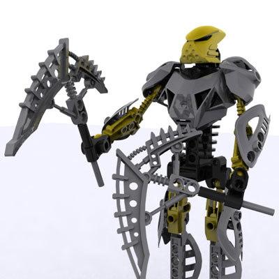 3d toy robot model