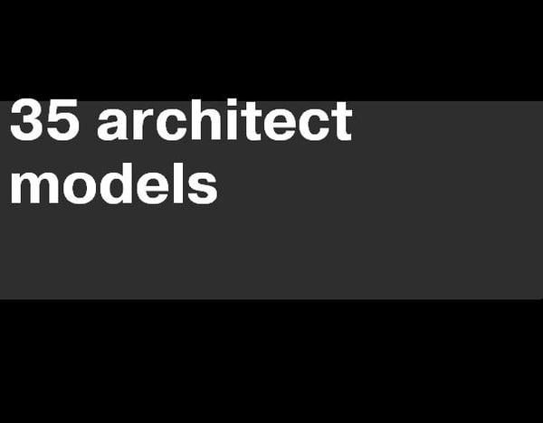 architect 3d max