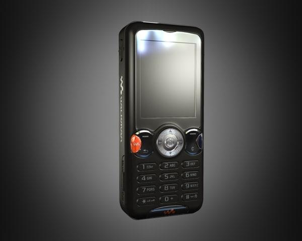 3d sony ericsson w810i w810 model