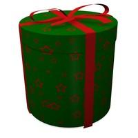 dxf gift box present