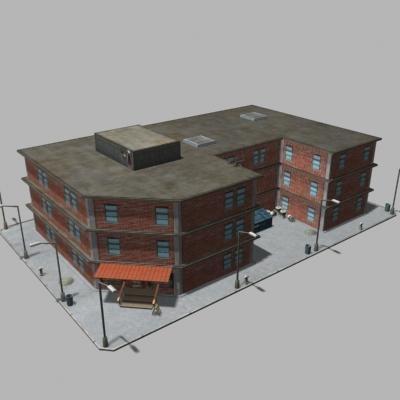 building city 3d max