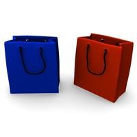 3d gift bag model