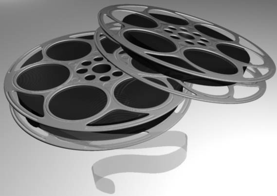 3d obj movie reel