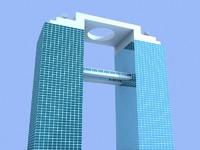 maya skyscraper 9 building