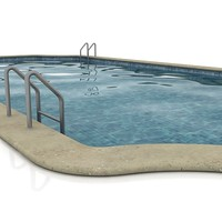 3d model swimming-pool swimming