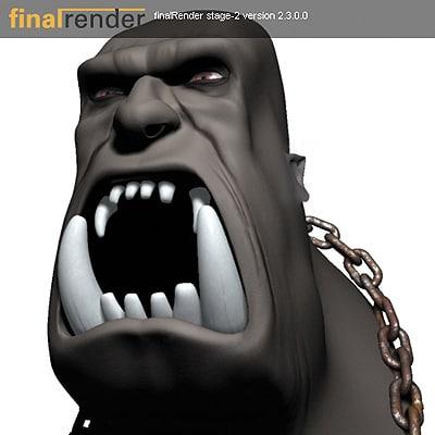 orc ogre 3d model