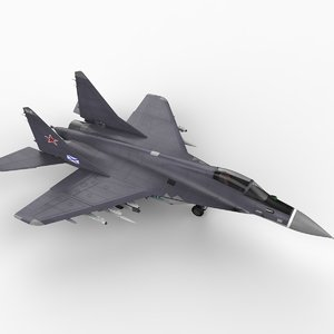 mig-29k fighter aircraft 3ds