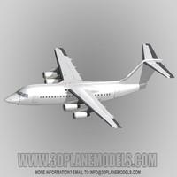 maya british aerospace 146-200 regional jet