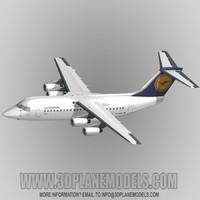 BAe146-200/RJ85 Lufthansa