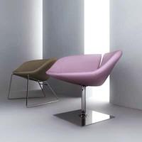 fjord chair 3d model