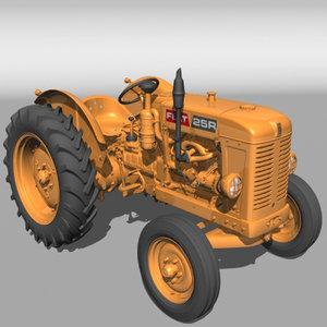 lightwave fiat 25 r tractor