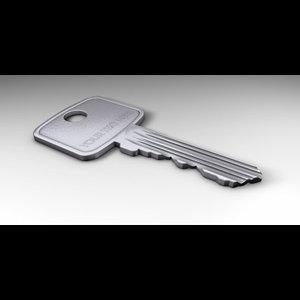 3d 3ds metal key