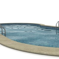 3dsmax swimming-pool swimming