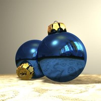3d ball christmas tree decoration