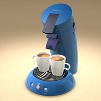 cinema4d senseo coffee machine