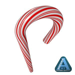 c4d candy cane