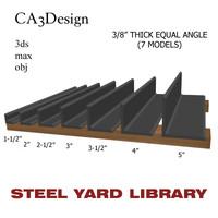 3 equal angle 3ds