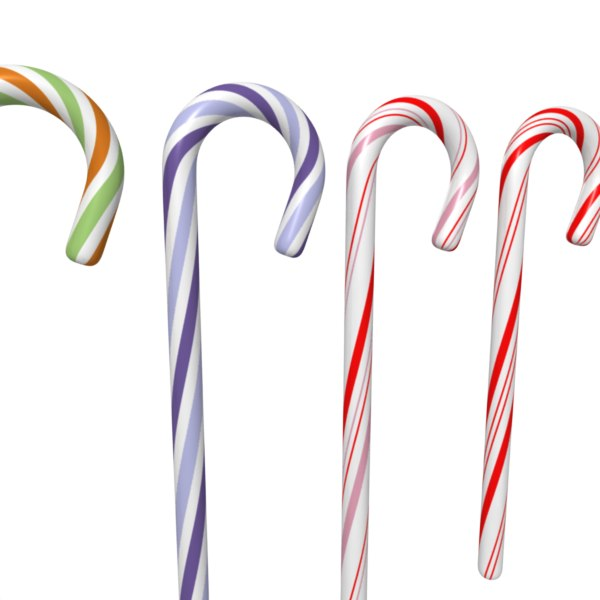 maya candy cane set