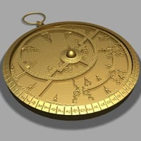 antique astrolabe max