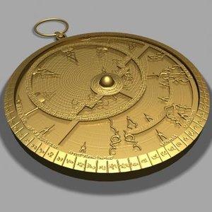 antique astrolabe max