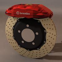 Brembo GT brake system  (HIPoly)