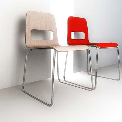 3d hole chair