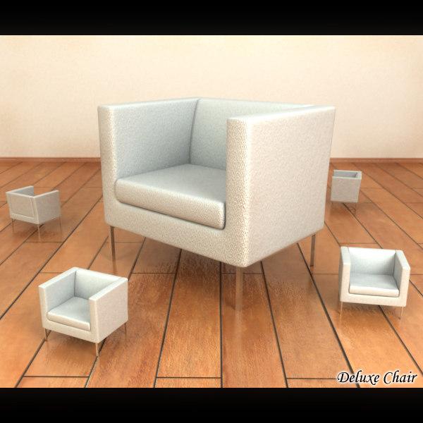3d deluxe chair