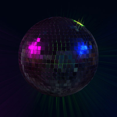 disco ball light max