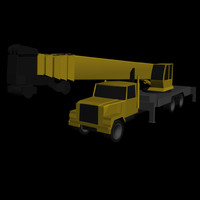 Low Poly National Crane Series 18103.3DS