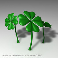 3ds shamrock st patricks