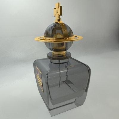 3d model perfume bottle boudoir