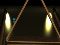 3ds max pool sticks