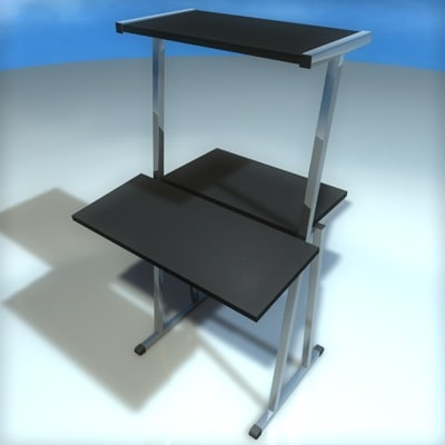 3d pc stand